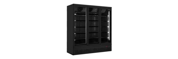 Tiefkühlschrank mit Glastür