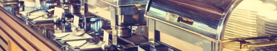 Chafing Dish mit Brennpasten