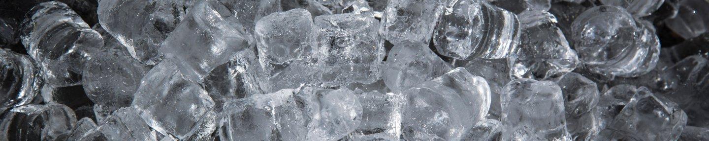 Viele Eiswürfel
