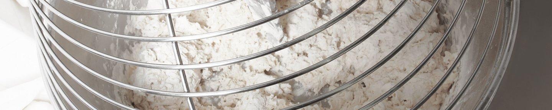 Spiralrührmixer mit Teig
