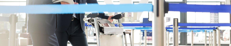Personenleitsysteme am Flughafen