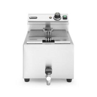 Friteuse Mastercook mit Ablasshahn - 8 Liter