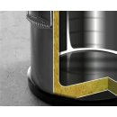 Thermotransportbehälter,ø330x(h)220 mm