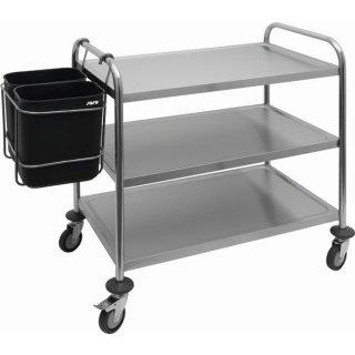 SARO Abfallsammelbehälter für Servierwagen Modell AB 2