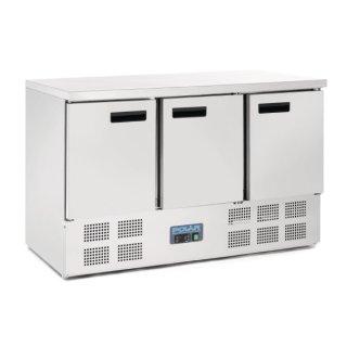 Polar Kühltisch 3-türig 368 Liter
