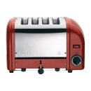 Dualit Toaster, 4 Schlitze, rot (M)