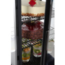 Aufsatz Kühlvitrine 78 Liter,schwarz