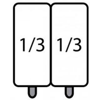 SARO E7/CPCEXC Nudelkorb-Set 2 x 1/3 GN