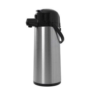 Edelstahl Isolierpumpkanne, Inhalt: 2,2 Liter
