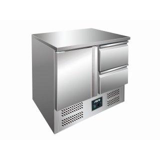 SARO Kühltisch mit Schubladen Modell VIVIA S901 S/S TOP - 2 x 1/2 GN