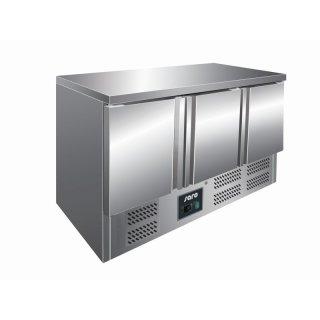 Kühltisch Modell VIVIA S 903 S/S TOP, Maße: B 1365 x T 700 x H 870-890