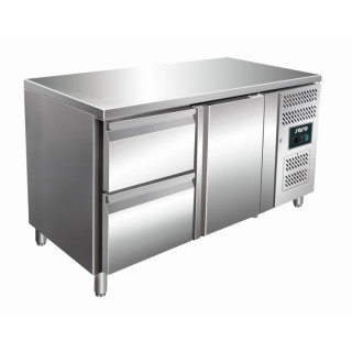 SARO Kühltisch inkl. 2er Schubladenset Modell KYLJA 2110 TN