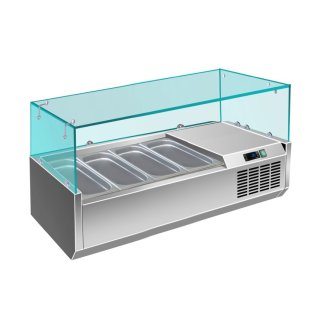 Kühlaufsatz - 1/3 GN Modell VRX 1200 / 380, Maße: 1200 x T 395 x H 435