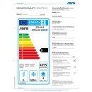 Gewerbetiefkühlschrank - 2/1 GN Modell KYRA GN 1400 BT, Maße: B 1480 x T 830 x H 2010