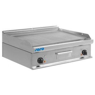 Elektro-Griddleplatte Tischmodell E7/KTE2BBR, Maße: B 800, Bratplatte: 795 x T 700, Bratplatte: 530 x H 270