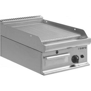 SARO Gas-Griddleplatte Tischmodell E7/KTG1BBR
