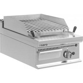 Gas-Lavasteingrill Tischmodell E7/BS1BB, Maße: B 400 x T 700 x H 270