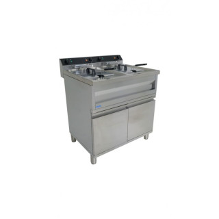 Fritteuse Modell GASTROLINE 12+12VS, Inhalt: 2x 12 Liter