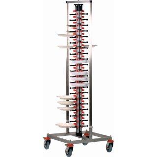 Tellerstapelsystem Plate-Mate® Modell PM-84 STANDARD, Maße: B 650 x T 650 x H 1870