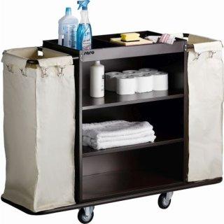 Zimmerservicewagen Modell AF 258, Maße: B 1420 x T 450 x H 1120