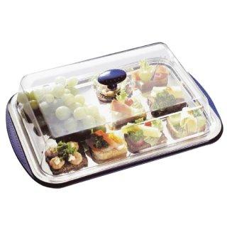 Kühlservierplatte mit Haube