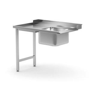 Zulauftisch für Geschirrspüler,rechte Seite