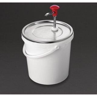 Schneider 10L Soßenspender mit Pumpe